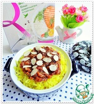 Рецепт Рис с финиками и миндалем