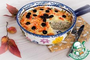 Рецепт Ленивая капустная запеканка