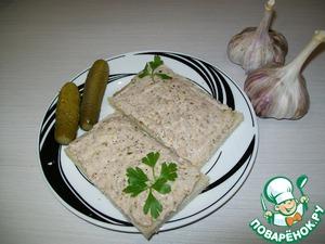 Рецепт Закусочные бутерброды под горячее