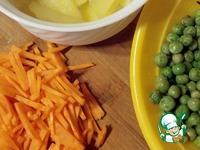 """Салат картофельный """"Необычная обычность"""" ингредиенты"""