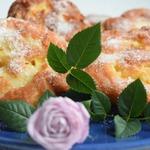 Яблочные пончики-завитушки