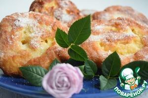 Рецепт Яблочные пончики-завитушки