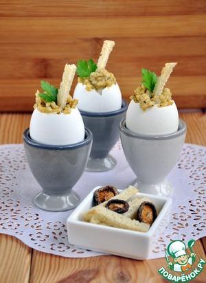 Рецепт Воздушная яичная кашка с трюфелем