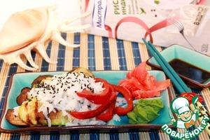Рецепт Теплый тайский салат из риса с овощами