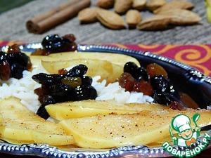 Рецепт Айва в карамельном соусе с рисом