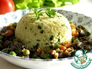 Рецепт Овощное рагу с грибами и пшенкой