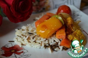 Рецепт Глазированные овощи