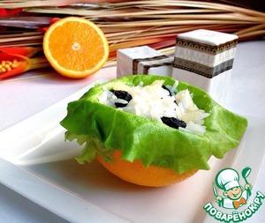 Салат с рисом, изюмом и ананасом вкусный пошаговый рецепт с фото как готовить