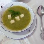 Низкокалорийный суп-пюре из сельдерея