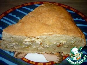 Рецепт Пирог с капустой и адыгейским сыром