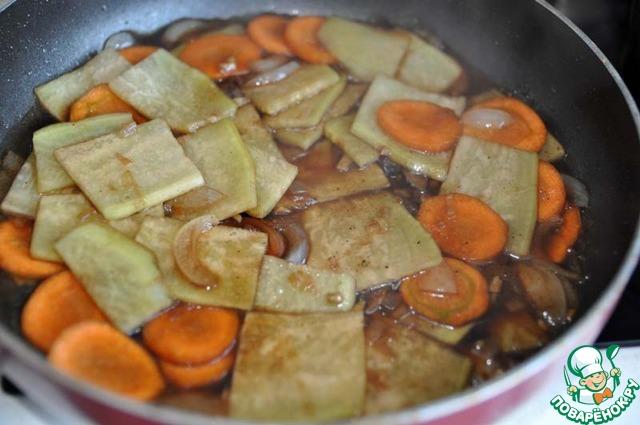 овощи по японски рецепт с фото