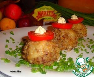 """Рецепт Гречневые """"колобки"""" с рыбной начинкой"""