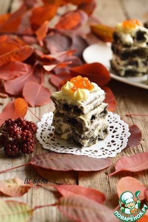 Рецепт Закусочные пирожные из заварного теста