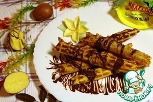 Рецепт Вафли картофельные