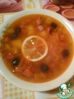 Рецепт Суп-солянка