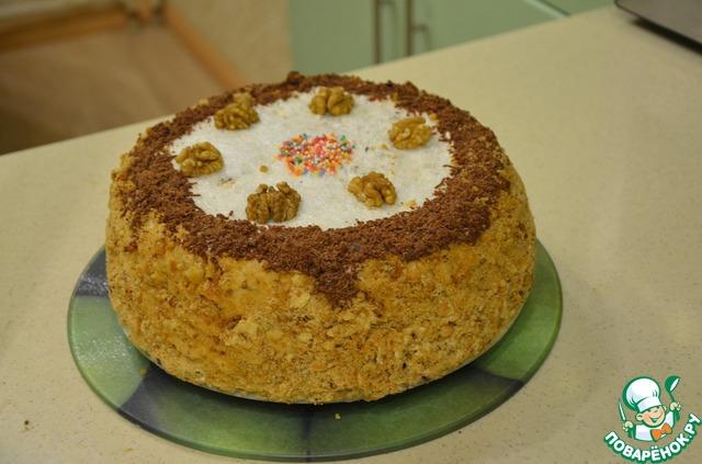 Испечь праздничный торт дома с фото