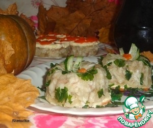 """Рецепт Заливное из рыбы с орегано """"Осенние мотивы"""""""