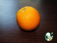 Апельсиновый кекс с сахарной глазурью ингредиенты