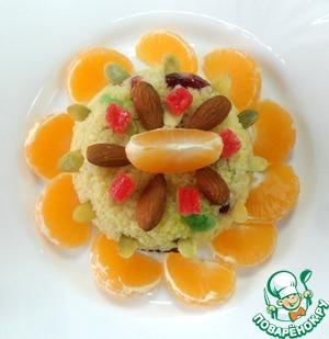 Рецепт Десертный салат пшенно-цитрусовый