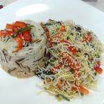 Салат фунчеза к ароматному рису