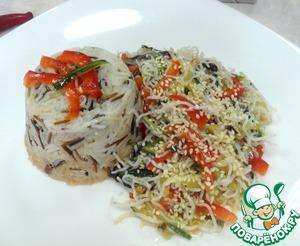 Рецепт Салат фунчеза к ароматному рису