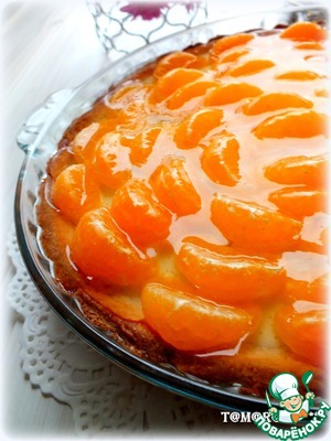 Рецепт Тарт с мандаринами