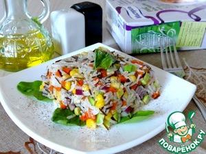 """Рецепт Вегетарианский салат """"Нежный"""""""