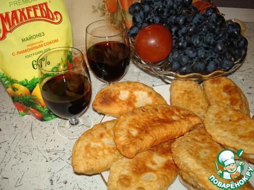 Чебуреки с брынзой рецепт с фото