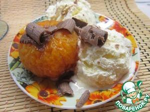 Рецепт Мандариновый десерт