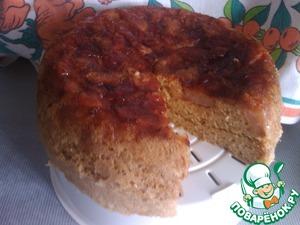 Рецепт Шарлотка с яблоком и грушей в мультиварке