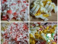 Салат с макаронами и крабовыми палочками ингредиенты