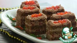 Рецепт Закусочные пирожные из сельди