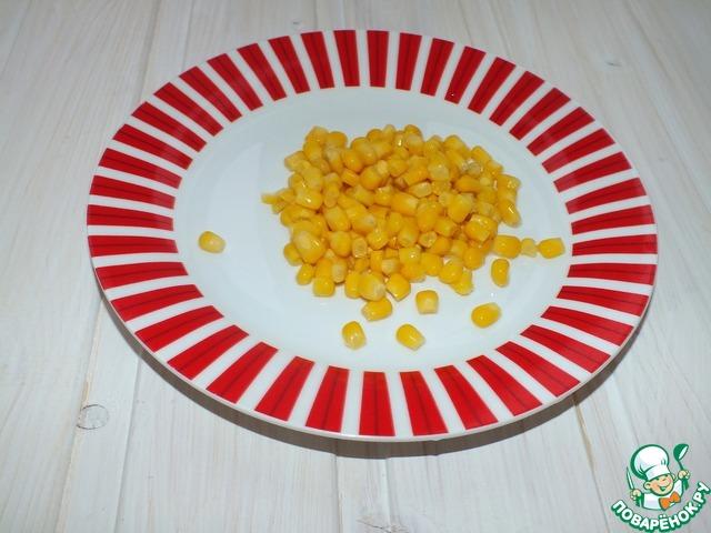 рецепт салата с курицей и ананасами без кукурузы