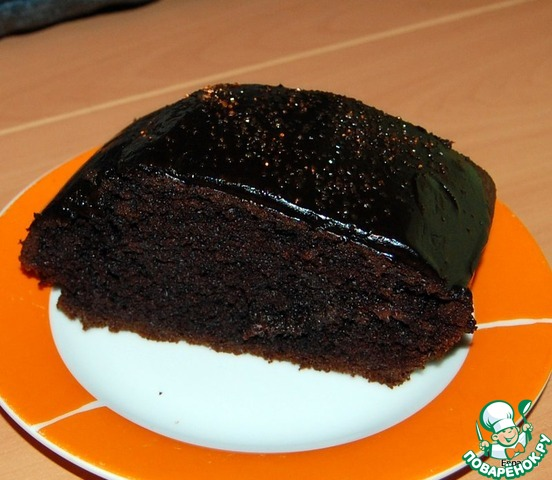 Шоколадный манник рецепт с