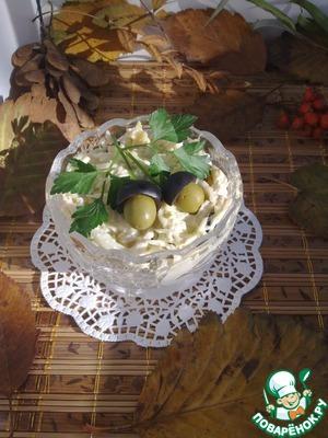 Рецепт Салат из белокочанной капусты с бананом