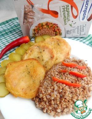 Рецепт Шницель из помидоров в хрустящем кляре