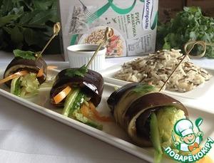 Рецепт Овощные рулетики