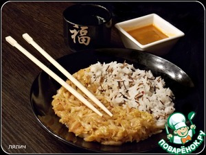 Рецепт Китайская капуста с медом и рисом