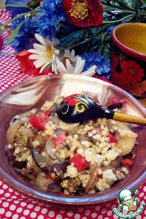 Рецепт Теплый салат с пшеном