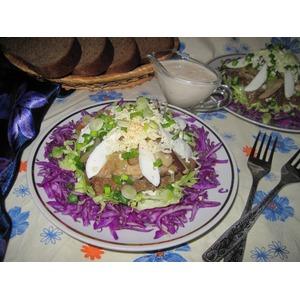 салат с лесными грибами рецепты