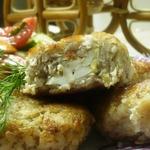 Гречневые зразы с куриным филе