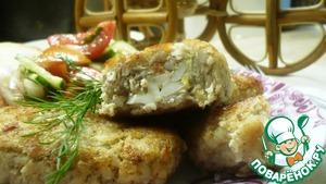 Рецепт Гречневые зразы с куриным филе