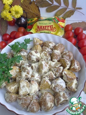 Рецепт Запеченный картофель по-испански