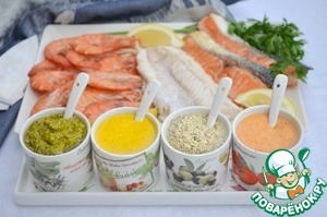 Рецепт Соусы для рыбы и морепродуктов