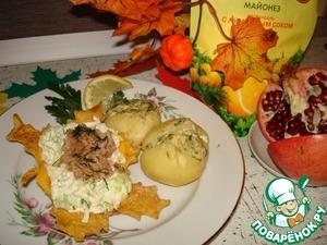 Рецепт Салат из тунца и пекинской капусты