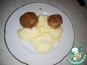 Рецепт Тефтели в молочном соусе