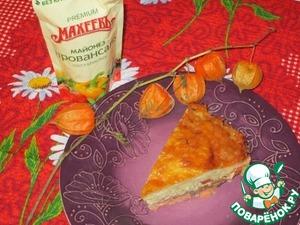 Рецепт Лосось под овощной шубой