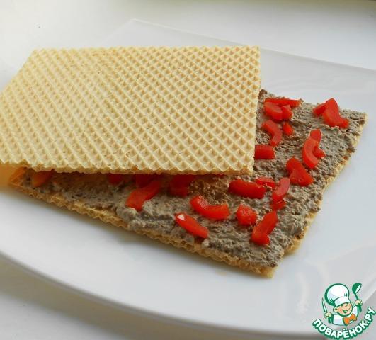 Торт на основе вафельных коржей