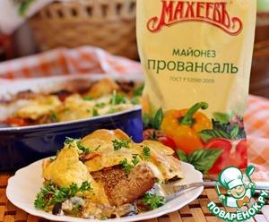 Рецепт Медальоны из телятины с овощами