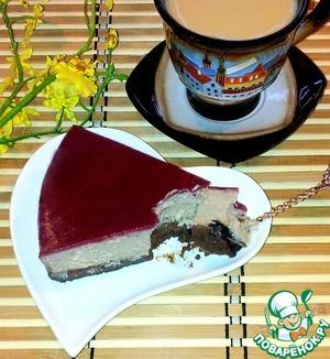 Рецепт Чизкейк шоколадно-вишневый